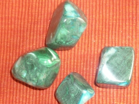 Malachite-Chrysocolle